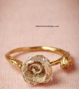 Latest Designs Of Gold Rings For Womens Fashion Beauty Mehndi