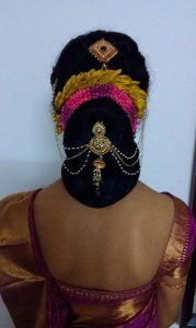 Bun Hairstyle For Indian Wedding Function Fashion Beauty
